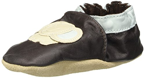 Jack & Lily Originals Elephant Boy - Zapatillas de piel super divertidas y coloreadas, multicolor