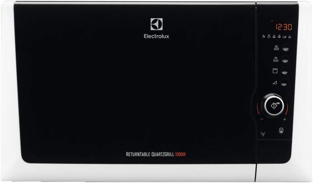 Electrolux EMS28201OW Encimera 28L 900W Blanco - Microondas (Encimera, 28 L, 900 W, Botones, Giratorio, Blanco, 1000 W)