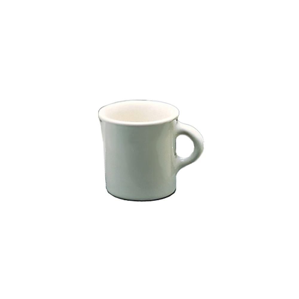 Homer Laughlin China 30000 Undecorated 8.75 Oz. Coffee Mug - 36 / CS