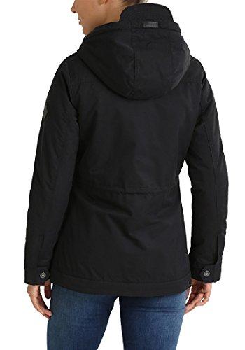 Blendshe À Capuche 70155 Manteau Parka Femme Black Colette Veste Long Pour aC7qwRZAax
