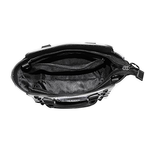 Gass Rivet Tote PU Bag Bennigiry Purse Leather Shoulder Women's Bag TRqWwqnxBv