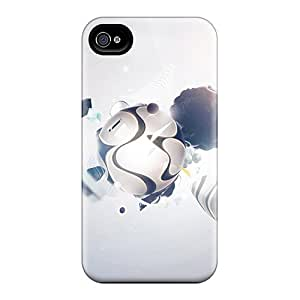 Iphone 4/4s Case Slim [ultra Fit] Digital Creation Protective Case Cover