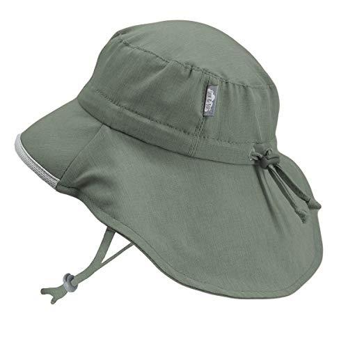 54fc3b631 Jan & Jul Children Summer Quick-Dry Outdoor Sun-Hats 50+ UPF Drawstring