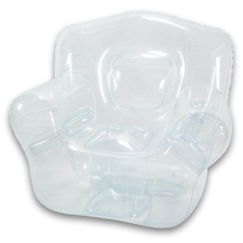 Inflatable Bubble Chair, Crystal Clear