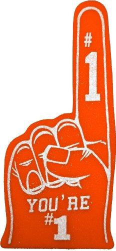 1 Foam Fingers (You're Number One #1 Foam Finger -)