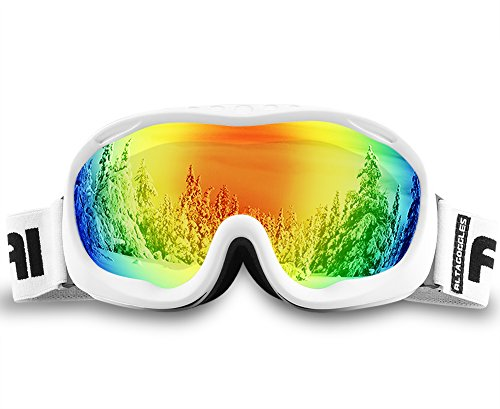AKASO Ski Goggles An-ti Fog Double Lens Skate Glasses For Men ,Women & Youth, UV protection Windproof Snowboard Skiing Skating.
