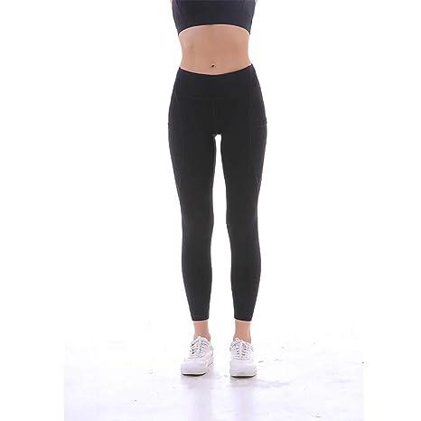 AWSAYS 2019 Mujer Pantalones De Fitness Slim Fit Pantalones De ...