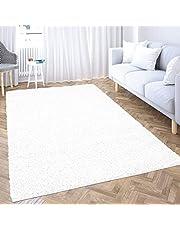 carpet city Hoogpolig tapijt woonkamer effen - zwart - rond rechthoekig vierkant - Shaggy langpolig Uni slaapkamer - zacht & pluizig - modern