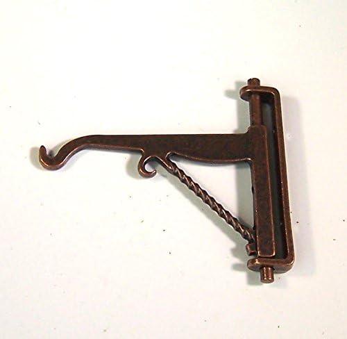 Creal Halterung f/ür Schild oder Laterne aus Metall F/ür Krippe oder Puppenhaus 4x4 cm