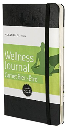 "Moleskine Passion Wellness Journal - Hard Cover, Large (5"" x 8.25"") - 240 pages (Passion Book Series)"