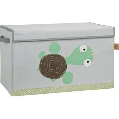 Lässig ltt190 Caja para guardar/Toy Trunk Wildlife Turtle