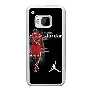HTC One M9 Cell Phone Case White Jordan logo YT3RN2533433