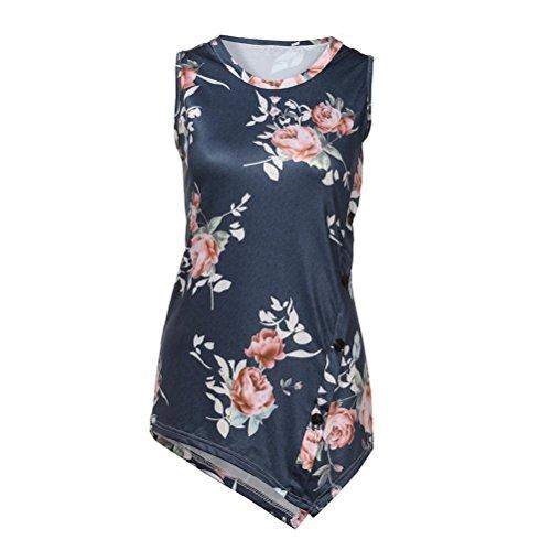 Bekleidung Sanfashion Donna Ballerine Shirt155 Grau Damen dZwZPY