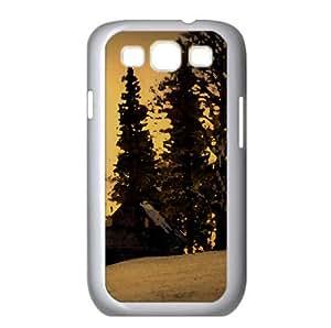 Beautiful Winter Twilight Watercolor style Cover Samsung Galaxy S3 I9300 Case (Winter Watercolor style Cover Samsung Galaxy S3 I9300 Case)