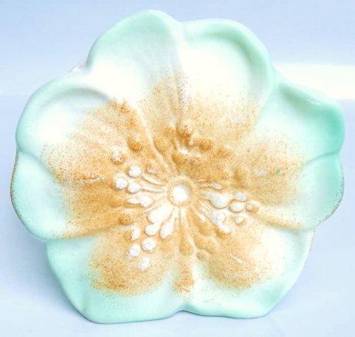 - McCoy Ceramic Dogwood Blossom Wall Pocket Planter
