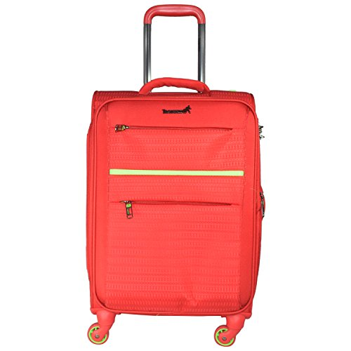 Traworld Jupiter 1003 20 inch 4Wheel Trolley Bag   Orange