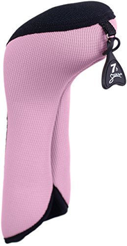 (Stealth Club Covers 05000INT Hybrid ID 5-6-7 Golf Club Head Cover, Pink/Black)