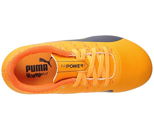 Image of PUMA Evopower Vigor 4 FG JR Skate Shoe, Ultra Yellow-Peacoat, 5 M US Big Kid