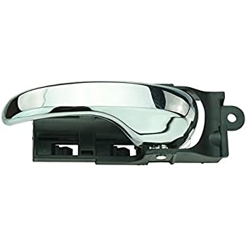 Interior Door Handle compatible with F-150 99-03//F-150 Heritage 04-04 Front Right and Left Side Inside All Chrome