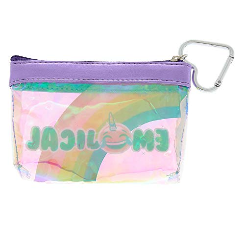 Coin Purse Rainbow Girl's Emojical Zip Claire's UXIqw