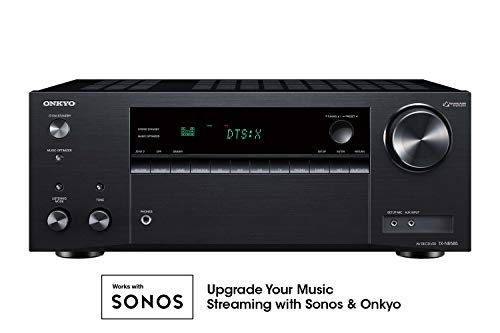 Onkyo TX-NR585 7.2 Channel Network A/V Receiver Black (Best Av Receiver Under 1000)