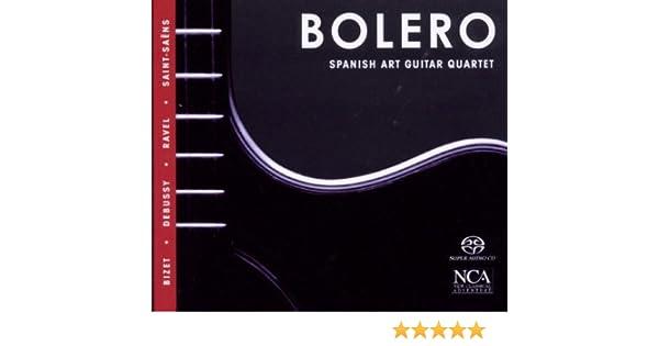 Bolero - Arrelos Para Cuarteto Guitarra: Georges Bizet & Camille ...