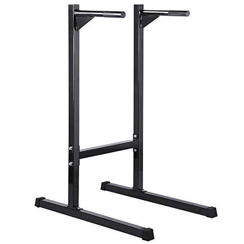 Ant Baby Heavy Duty Dip Station Stand Bar Fitness Exercise Workout Bicep Triceps for Home,Office and Gym,500lbs