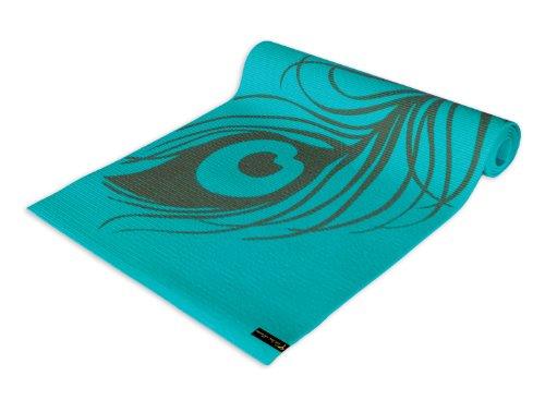 Wai Lana Yoga and Pilates Mat, Peacock Feather