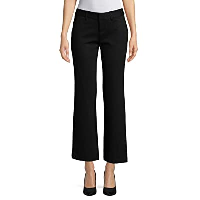 Lord & Taylor Women Ponte Bootcut Black Pants Size 3X at Women's Clothing store