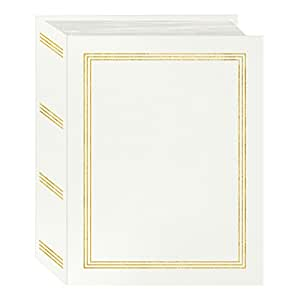 "Pioneer Photo Albums A4-100/W 100 Pocket Mini-Max Photo Album, 4"" x 6"", White"