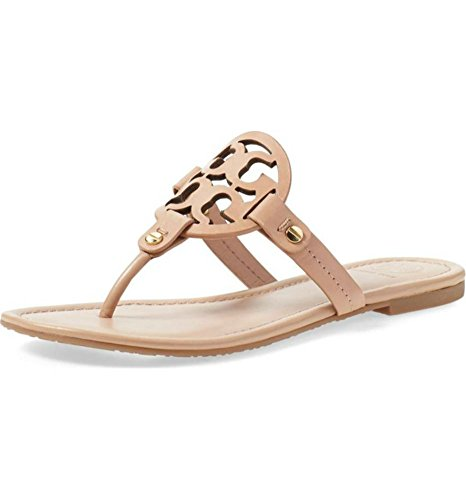 fa35aae681150f Galleon - Tory Burch Women s Vachetta Leather Flat Thong Sandals - Miller  (11