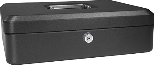 BARSKA-12-Inch-Cash-Box-with-Key-Lock