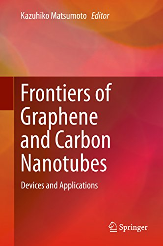 Frontiers of Graphene and Carbon Nanotubes: Devices and Applications (Carbon Nanotube Devices)