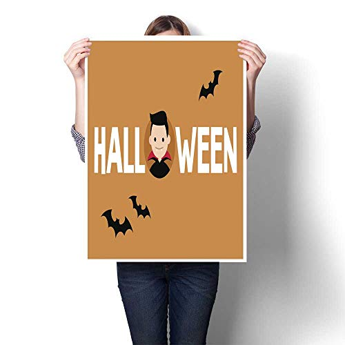 homehot Abstract Painting Halloween Conceptual Sign Dracula and