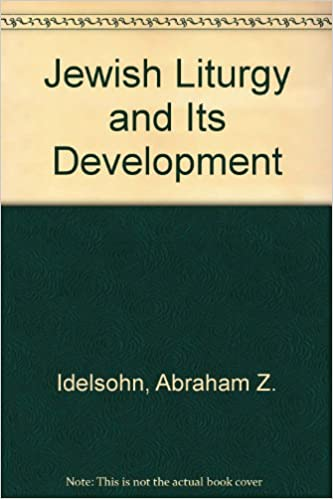 Book Jewish Liturgy and Its Development
