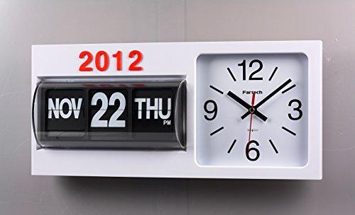 FARTECH Auto Calendar Flip Clock AD-830 ()