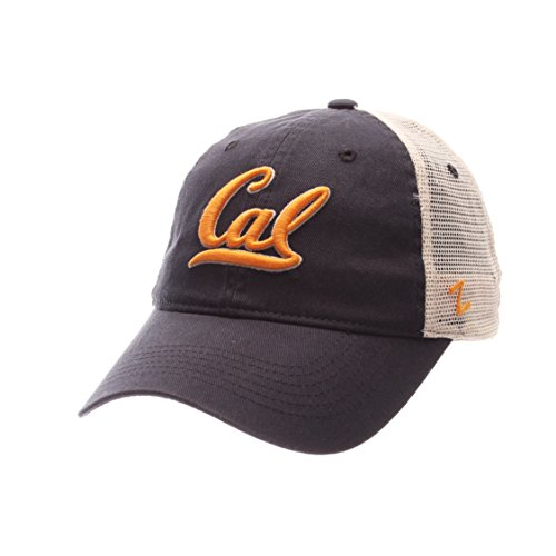 ZHATS UC Berkeley Golden Bears Summertime Adjustable Snapback Cap - NCAA Cal Trucker Mesh, One Size Baseball Hat