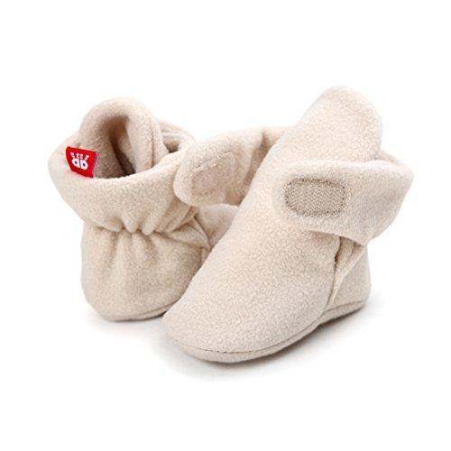 Pictures of Newborn Cozie Fleece Bootie Unisex Infant Toddler A0862 4