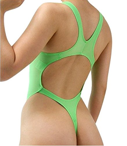 Lazutom - Body - para mujer Verde