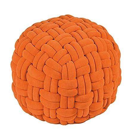 Cojín - Lokken - Pouf, Taburete, Puff - Color: Naranja ...