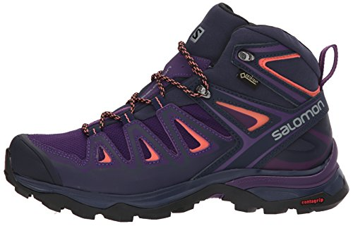 Blue Boots Women's Mid 3 Hiking acai Coral evening Rise Gtx living High Purple Ultra Salomon W 000 X xASdwvvq6