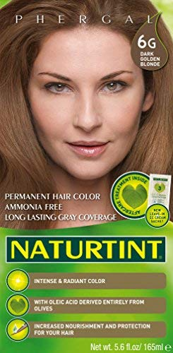 Naturtint Permanent Hair Color - 6G Dark Golden Blonde, 5.6 fl oz (6-pack)