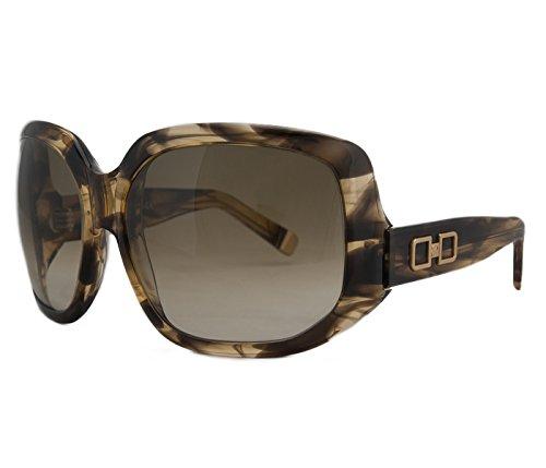 DSquared DQ 0020 50FD Olive Tortoise Oversized Square Full Rim - Dq Sunglasses