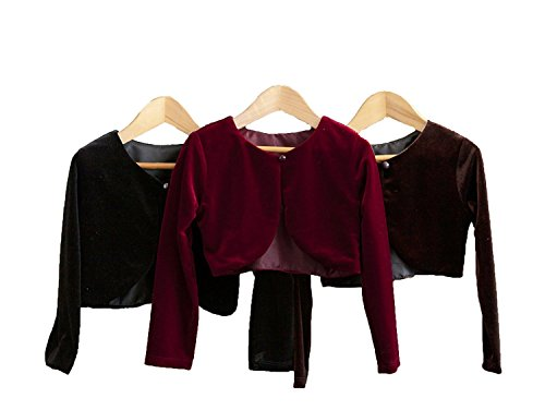 Classy 825 Beautiful Cardigan/Sweater for Girl - Black 10T -