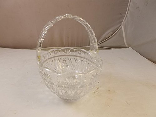 teleflora-bohemiam-crystal-clear-cut-basket-with-handle