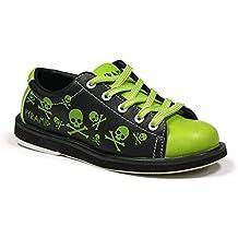 Pyramid Youth Skull Green/Black Bowling Shoes