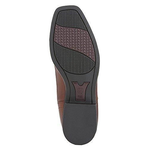 ARIAT Damen Reitstiefelette CHALLENGE SQUARE TOE Zip PADDOCK (mit Reißverschluß vorne) Marrón - coñac