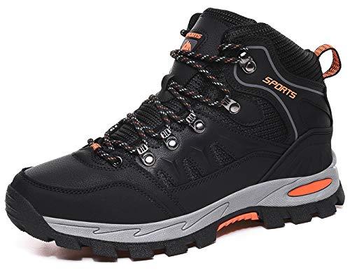 🥇 DimaiGlobal Zapatillas de Trekking para Hombres Zapatillas de Senderismo Botas de Montaña Impermeable Antideslizantes AL Aire Libre Deportes Escalada