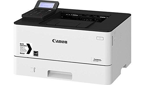 Canon i-SENSYS LBP212dw, S/W-Laserdrucker, 5-Zeilen-LCD, bis 33 Seiten/Min. (DIN A4), USB 2.0 Hi-Speed, Ethernet, Wireless 802.11b/g/n 2221C006