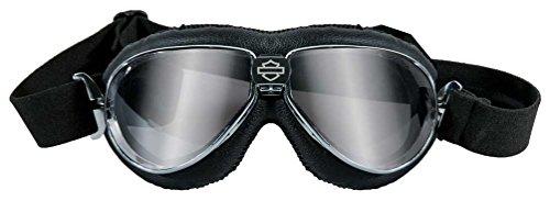 Harley-Davidson Speed High End Performance Goggles, Chrome Black Frames HGSPE01